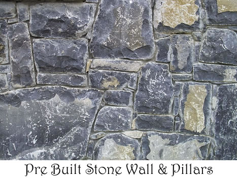 Pre-Built Walls and Pillars for sale